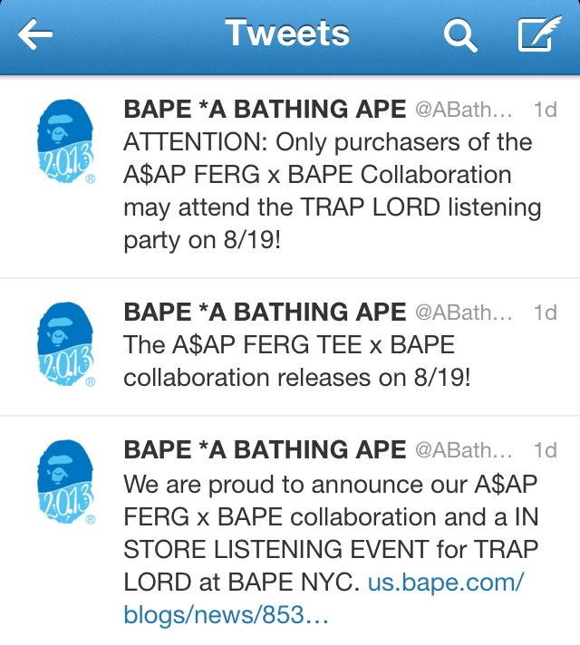 """1c7f64897 A$AP Ferg's album """"Trap Lord"""" will release on August 20."""